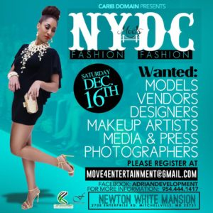 NY Fashion Meets DC Sponsor Invite @ Newton White Mansion | Mitchellville | Maryland | United States