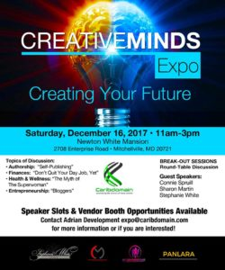 The Creative Minds Expo @ Newton White Mansion | Mitchellville | Maryland | United States